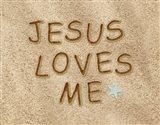Jesus Loves Me Sand