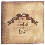 Faith Hope Love Banner