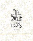 Noblest Art