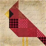Cardinal Patchwork