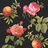 Pomegranates and Roses I
