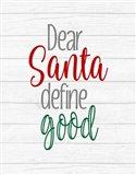 Deer Santa?