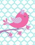 Bird Floral Branch I
