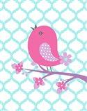Bird Floral Branch II
