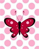 Butterfly Polka Dots