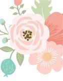 Pastel Floral Bouquet I