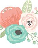 Pastel Floral Bouquet II