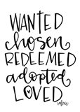 Wanted, Chosen