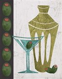 Martini and Olives II