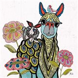Llama Rabbit & Bird