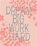 Dream Big, Work Hard