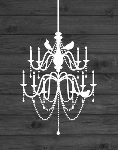 Chandelier Bird I Poster by Tamara Robinson for $36.25 CAD
