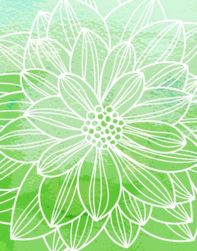 Flower Outline III Poster by Tamara Robinson for $36.25 CAD