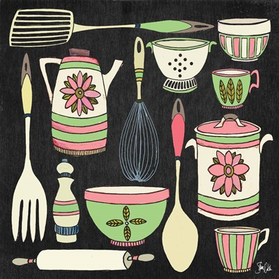 Kitchen Tools II Poster by Shanni Welsh for $41.25 CAD