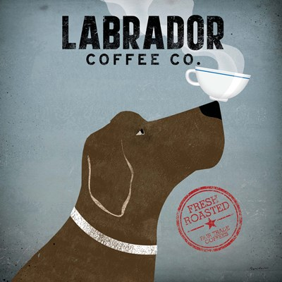 Labrador Coffee Co. Poster by Ryan Fowler for $28.75 CAD