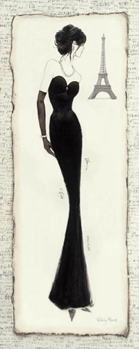Elegance Diva II Poster by Emily Adams for $48.75 CAD