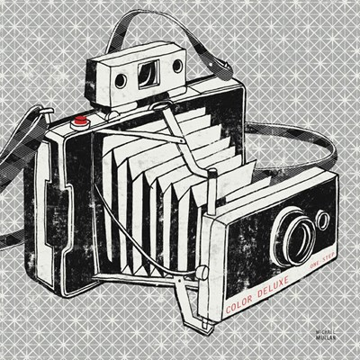 Vintage Analog Camera Poster by Michael Mullan for $50.00 CAD