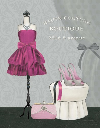Dress Fitting Boutique II Poster by Marco Fabiano for $37.50 CAD