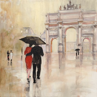 Romantic Paris II Poster by Julia Purinton for $57.50 CAD