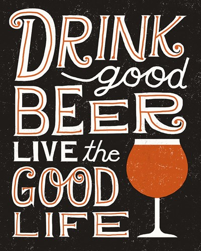 Craft Beer III Poster by Michael Mullan for $57.50 CAD