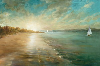 Coastal Glow Poster by Danhui Nai for $146.25 CAD