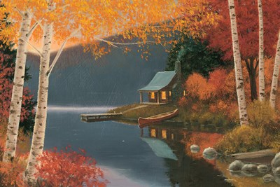 Quiet Evening I Poster by James Wiens for $43.75 CAD