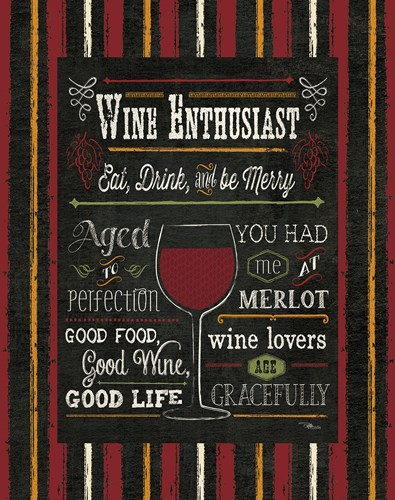 Wine Enthusiast II Poster by Pela Studio for $41.25 CAD