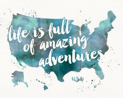 Adventures I Poster by Pela Studio for $57.50 CAD