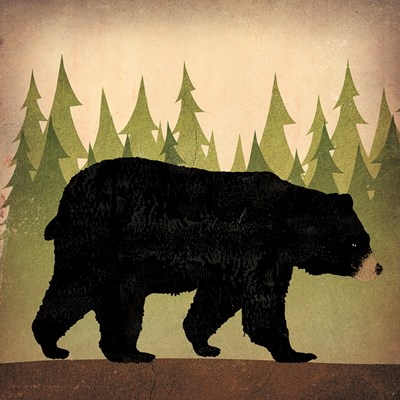Take a Hike Bear no Words Poster by Ryan Fowler for $50.00 CAD