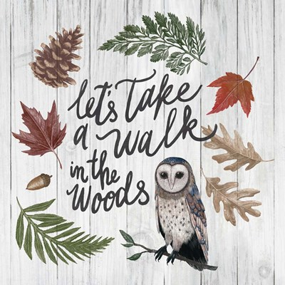 Walk in the  Woods Poster by Sara Zieve Miller for $76.25 CAD