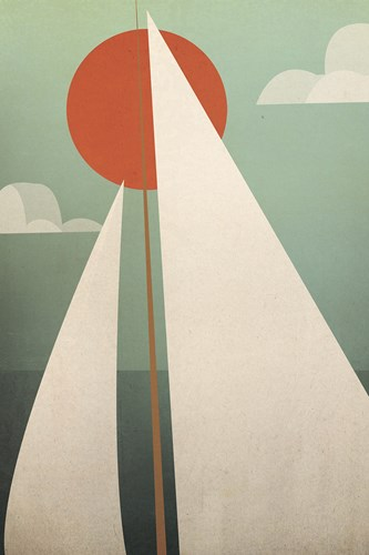 Sails V Poster by Ryan Fowler for $45.00 CAD