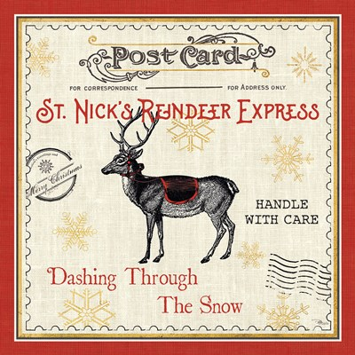 North Pole Express IV Poster by Pela Studio for $65.00 CAD