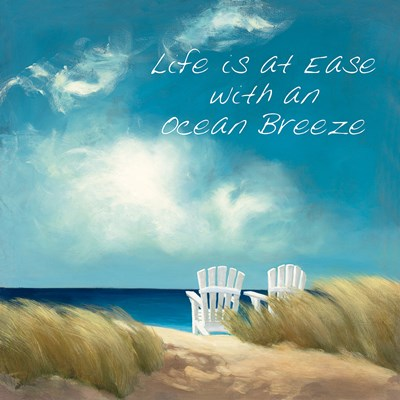 A Perfect Day Ocean Breeze Poster by Julia Purinton for $57.50 CAD