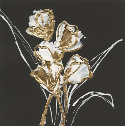 Gilded Tulips Poster by Chris Paschke for $35.00 CAD