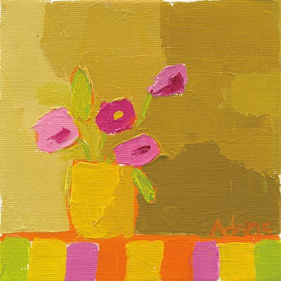 Yellow Vase Poster by Phyllis Adams for $56.25 CAD