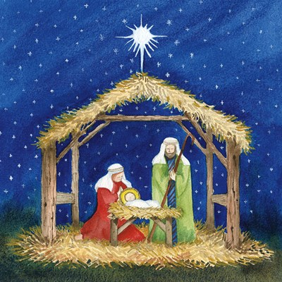 Christmas in Bethlehem III Poster by Kathleen Parr McKenna for $35.00 CAD