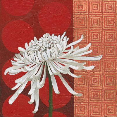 Morning Chrysanthemum II Poster by Kathrine Lovell for $56.25 CAD