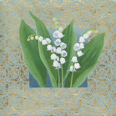 Lilies of the Valley III Poster by Kathrine Lovell for $50.00 CAD