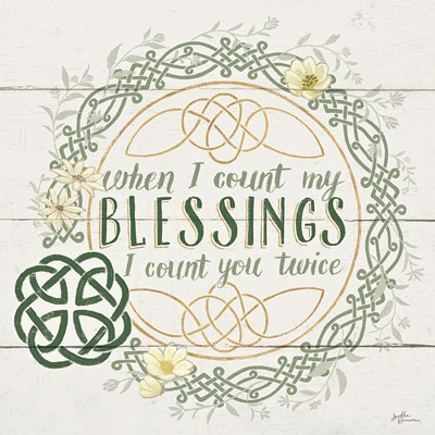 Irish Blessing II Poster by Janelle Penner for $65.00 CAD