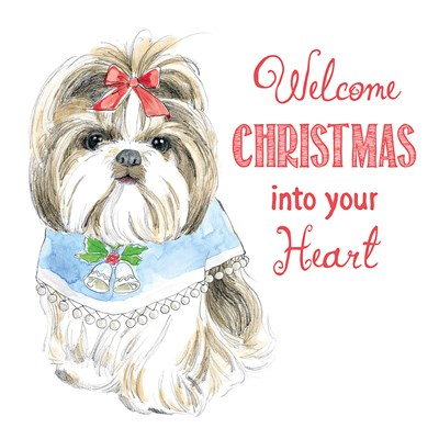 Glamour Pups Christmas II Poster by Beth Grove for $32.50 CAD