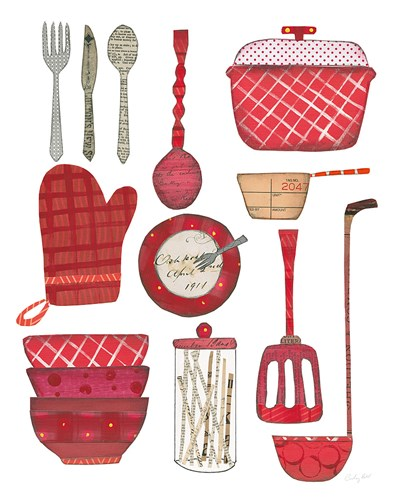 Cook Kitchen II Poster by Courtney Prahl for $41.25 CAD