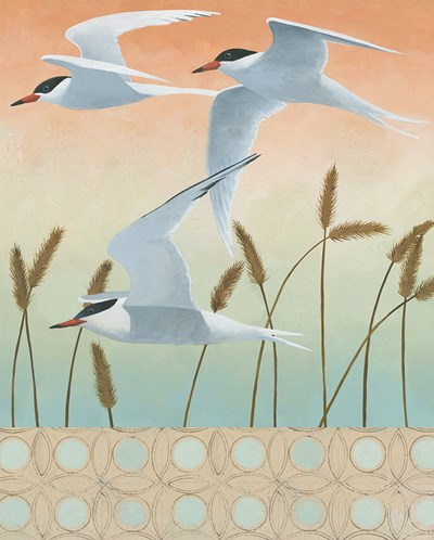 Free as a Bird II v2 Border Poster by Kathrine Lovell for $57.50 CAD