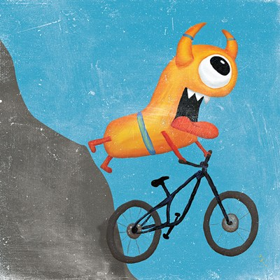 Xtreme Monsters I Poster by Sarah Adams for $32.50 CAD