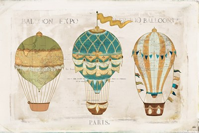 Balloon Expo I Poster by Katie Pertiet for $63.75 CAD