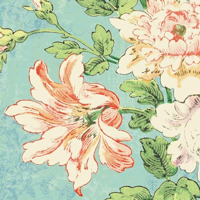 Cottage Roses VII Bright Poster by Sue Schlabach for $35.00 CAD