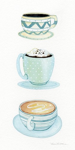 Coffee Break Element VI Poster by Kathleen Parr McKenna for $33.75 CAD