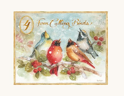 12 Days of Christmas IV Poster by Lisa Audit for $41.25 CAD