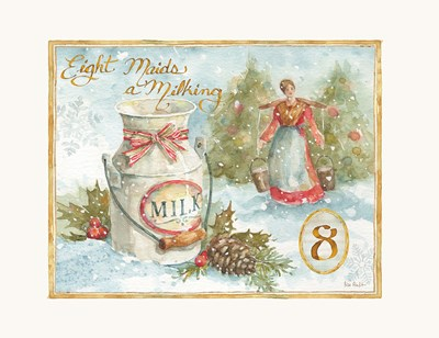 12 Days of Christmas VIII Poster by Lisa Audit for $42.50 CAD