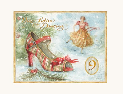 12 Days of Christmas IX Poster by Lisa Audit for $42.50 CAD