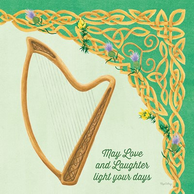 Celtic Charm II Poster by Elyse DeNeige for $56.25 CAD